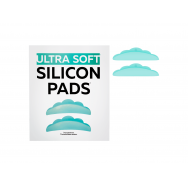 Ultra soft silicon pads for lash lamination