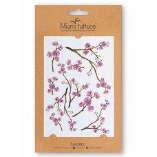LAIKINA TATUIRUOTĖ Sakura