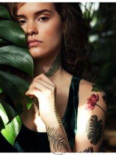 LAIKINŲ SPALVOTŲ TATUIRUOČIŲ RINKINYS Jungle