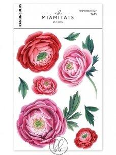 LAIKINŲ TATUIRUOČIŲ RINKINYS Ranunculus