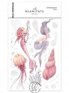 LAIKINŲ TATUIRUOČIŲ RINKINYS Real Mermaid