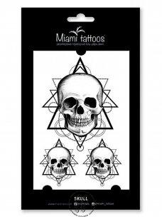 LAIKINŲ TATUIRUOČIŲ RINKINYS skull