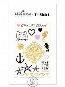 LAIKINŲ TATUIRUOČIŲ RINKINYS T-Skirt