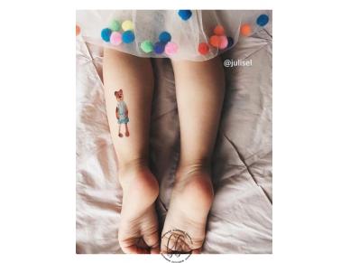 LAIKINŲ TATUIRUOČIŲ RINKINYS Toys 2
