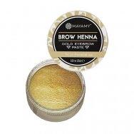 Mayamy Brow Henna auksinė antakių pasta