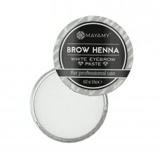 Mayamy Brow Henna balta antakių pasta
