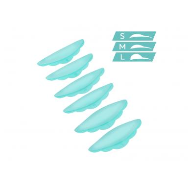 Itin minkšti silikoniniai padeliai blakstienų laminavimui 7