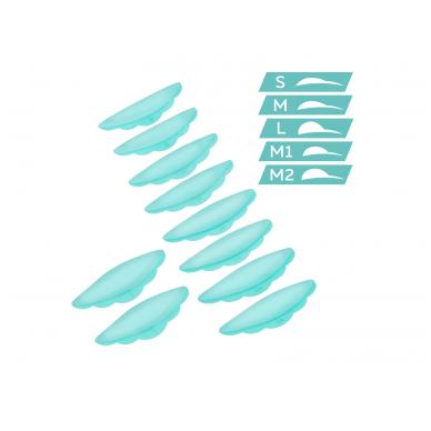 Itin minkšti silikoniniai padeliai blakstienų laminavimui 8
