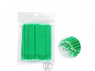 Mikrošepetėliai maišeliuose, mėlyni arba žali 2