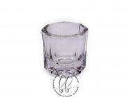 Stiklinė taurelė dažų maišymui