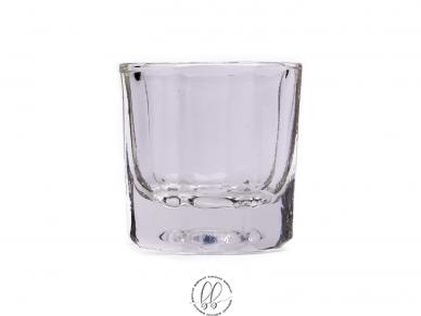 Stiklinė taurelė dažų maišymui 2